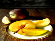30 Minute Peach and Yellow Plum Jam found on PunkDomestics.com